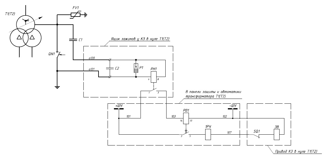 Рисунок 1 – Схема автоматики